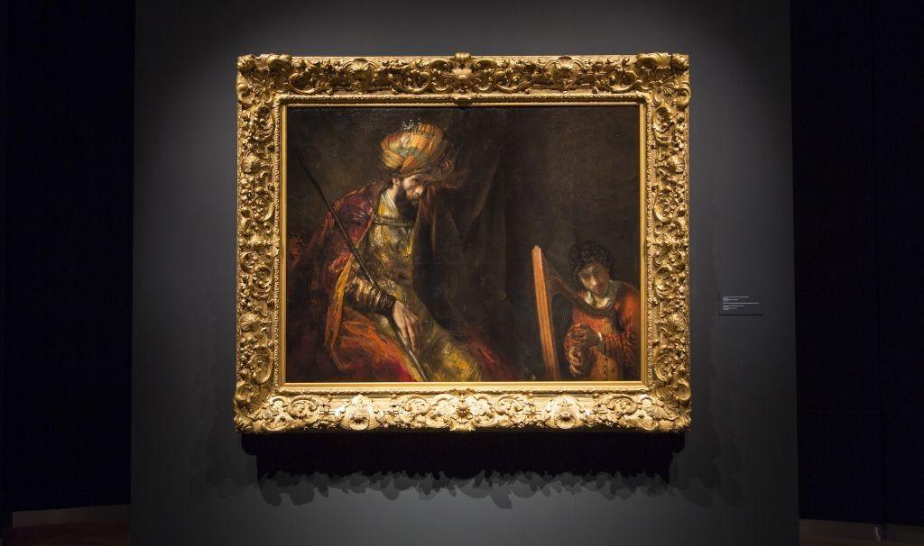 ״שאול ודוד״ של רמברנדט